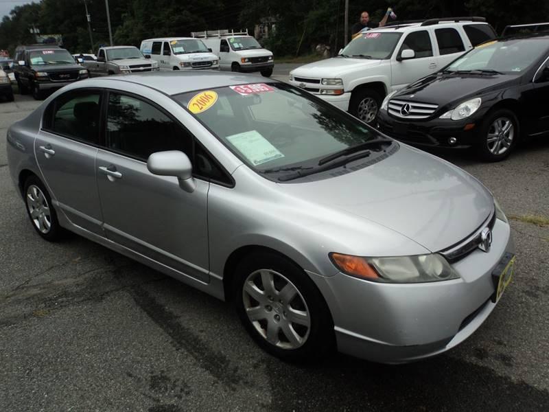 2006 Honda Civic LX 4dr Sedan W/automatic   Lake Hopatcong NJ