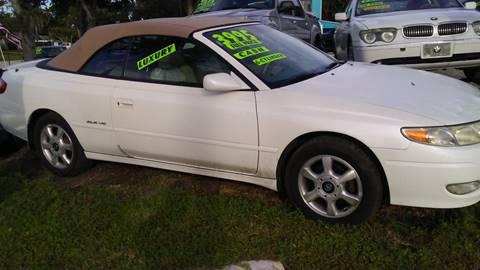 2002 Toyota Camry Solara for sale in Stuart, FL