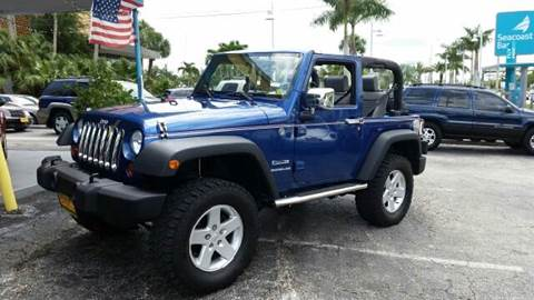 2010 Jeep Wrangler for sale at AFFORDABLE AUTO SALES OF STUART in Stuart FL