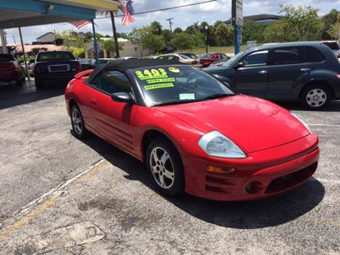 2003 Mitsubishi Eclipse Spyder for sale in Stuart, FL