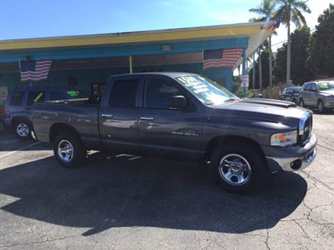 2003 Dodge Ram Pickup 1500 for sale at AFFORDABLE AUTO SALES OF STUART in Stuart FL