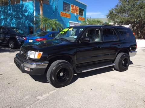 2000 Toyota 4Runner for sale at AFFORDABLE AUTO SALES OF STUART in Stuart FL
