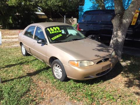 1999 Ford Escort for sale at AFFORDABLE AUTO SALES OF STUART in Stuart FL
