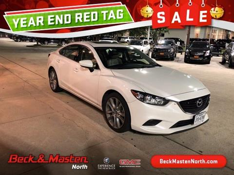 mazda 6 2015 white. 2015 mazda mazda6 for sale in houston tx 6 white o