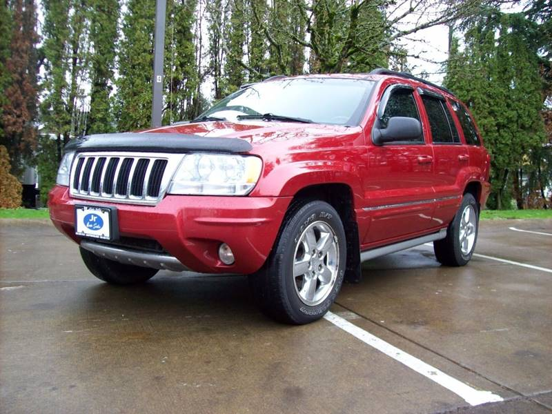 2004 jeep grand cherokee overland 4wd 4dr suv in portland or jr auto sales. Black Bedroom Furniture Sets. Home Design Ideas