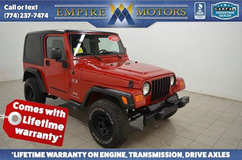 2006 Jeep Wrangler for sale in Canton, MA