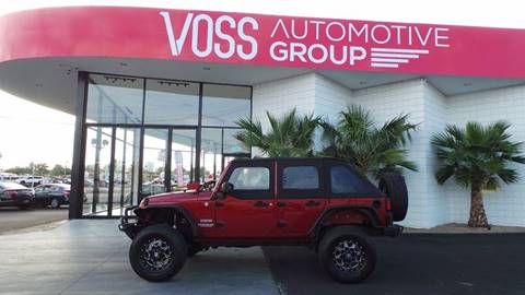 2011 Jeep Wrangler Unlimited for sale in Las Vegas, NV
