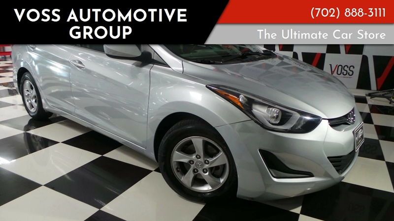 2014 Hyundai Elantra For Sale At Voss Automotive Group In Las Vegas NV