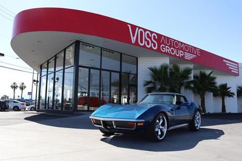 Cars For Sale In Las Vegas >> 1972 Chevrolet Corvette For Sale In Las Vegas Nv