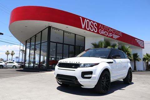 Range Rover Las Vegas >> 2013 Land Rover Range Rover Evoque For Sale In Las Vegas Nv