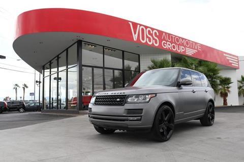 Range Rover Las Vegas >> Used Land Rover For Sale In Las Vegas Nv Carsforsale Com