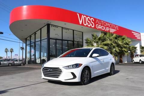 Hyundai Dealership Las Vegas >> 2018 Hyundai Elantra For Sale In Las Vegas Nv