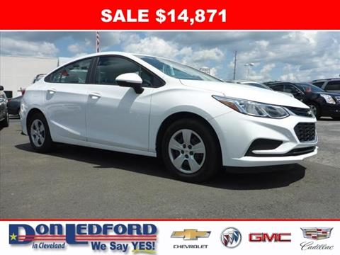 2017 Chevrolet Cruze for sale in Cleveland, TN