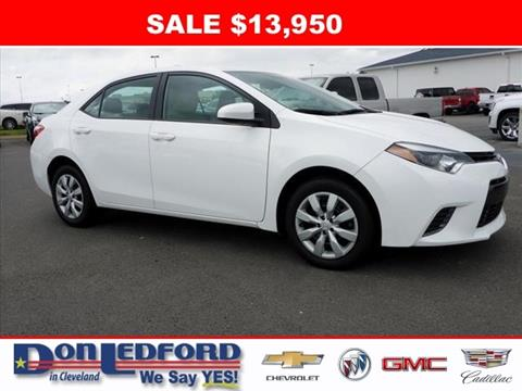2015 Toyota Corolla for sale in Cleveland TN