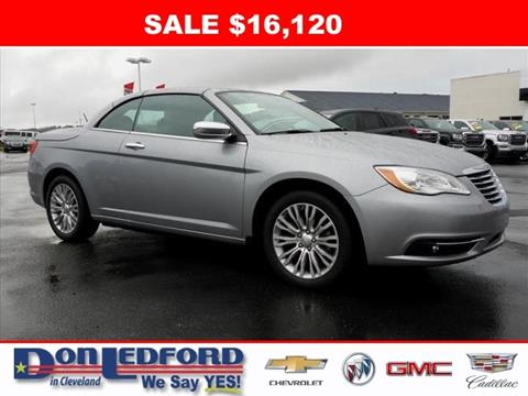 2013 Chrysler 200 Convertible for sale in Cleveland, TN