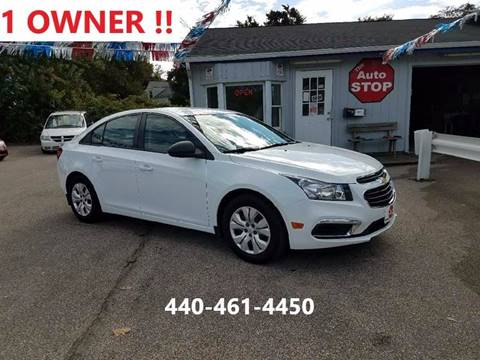 2016 Chevrolet Cruze Limited for sale in Painesville, OH