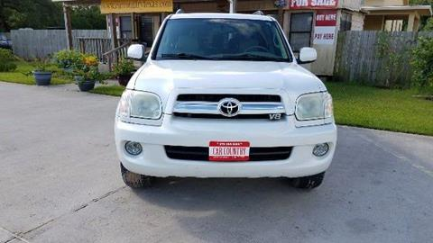 2005 Toyota Sequoia for sale in Clute, TX