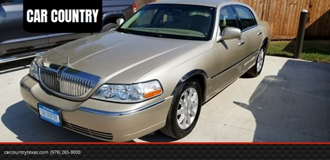 Lincoln Town Car For Sale In Texas Carsforsale Com