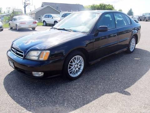 2002 Subaru Legacy for sale at Quinn Motors in Shakopee MN