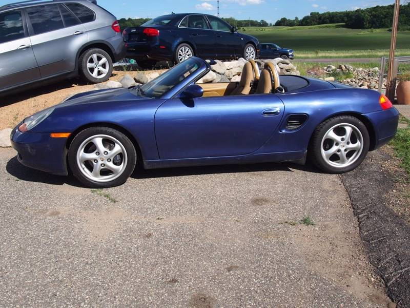 2000 Porsche Boxster for sale at Quinn Motors in Shakopee MN