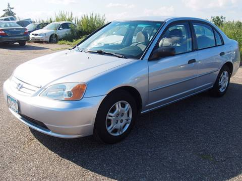 2001 Honda Civic for sale at Quinn Motors in Shakopee MN