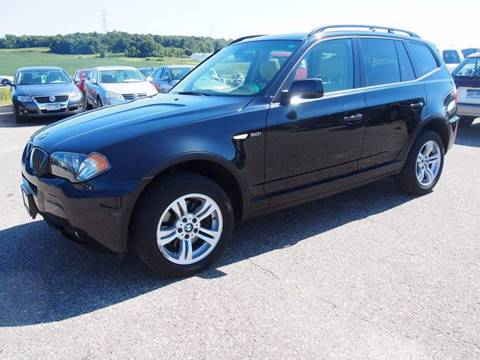 2006 BMW X3 for sale at Quinn Motors in Shakopee MN