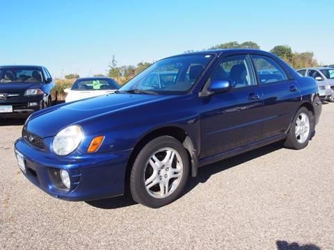 2002 Subaru Impreza for sale at Quinn Motors in Shakopee MN