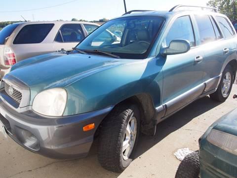 2003 Hyundai Santa Fe for sale at Quinn Motors in Shakopee MN