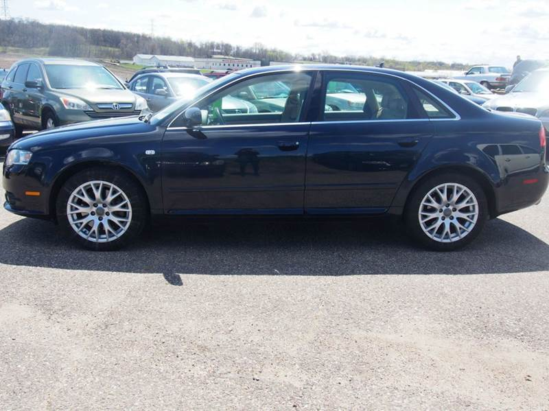 2008 Audi A4 for sale at Quinn Motors in Shakopee MN