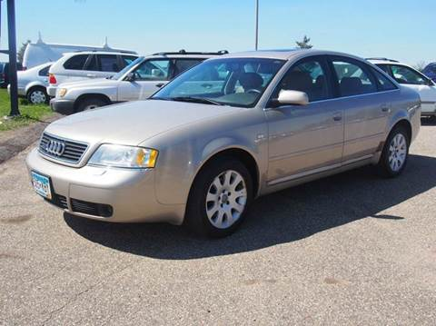 1999 Audi A6 for sale at Quinn Motors in Shakopee MN