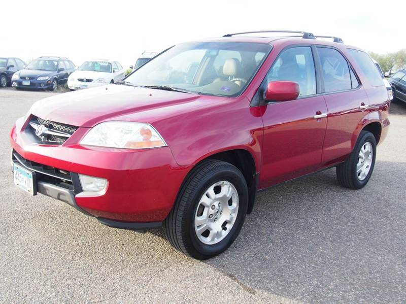 2002 Acura MDX for sale at Quinn Motors in Shakopee MN
