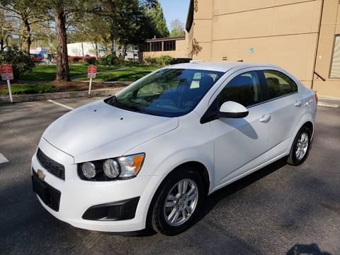 2014 Chevrolet Sonic for sale in Kirkland, WA