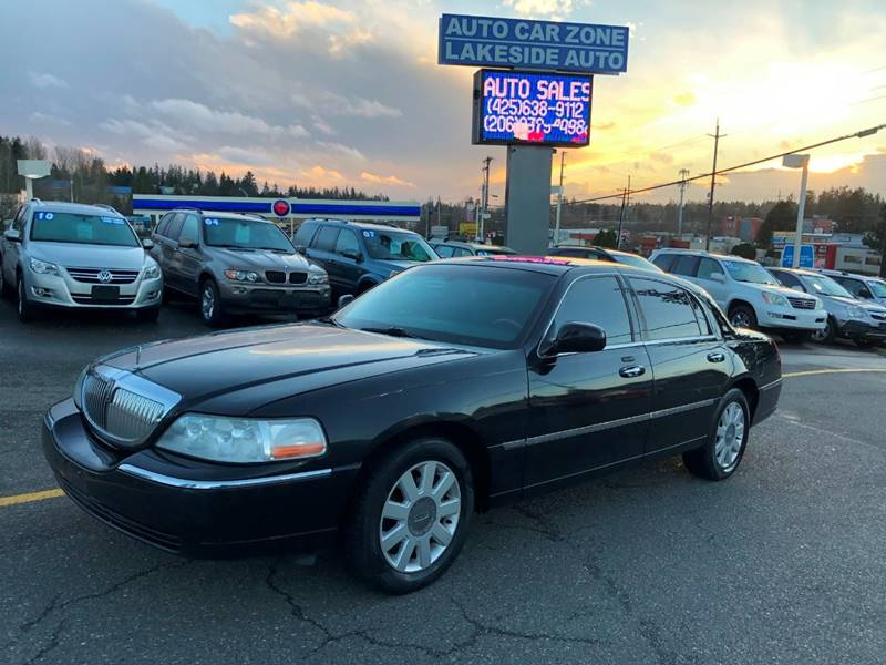 2010 Lincoln Town Car Signature Limited 4dr Sedan In Lynnwood Wa