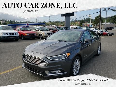 2017 Ford Fusion Hybrid for sale in Lynnwood, WA