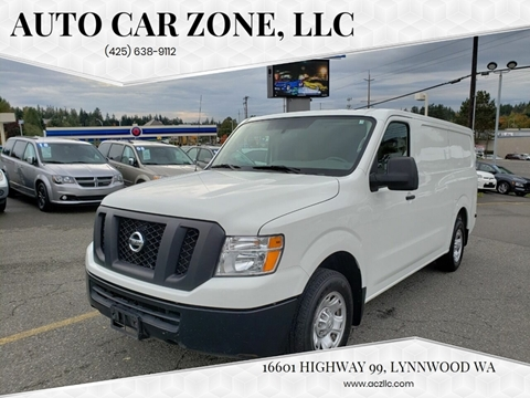 2017 Nissan NV Cargo for sale in Lynnwood, WA