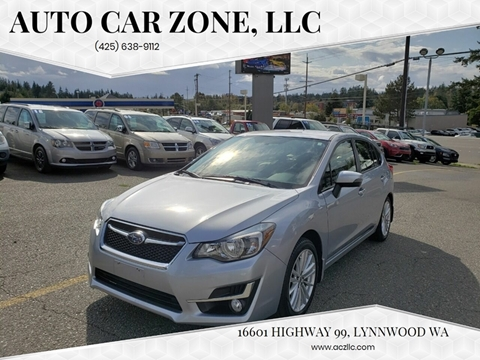 2016 Subaru Impreza for sale in Lynnwood, WA