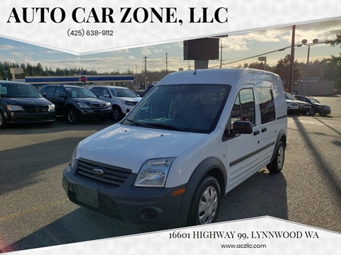 2013 Ford Transit Connect Cargo Van XL for sale at Auto Car Zone, LLC in Lynnwood WA