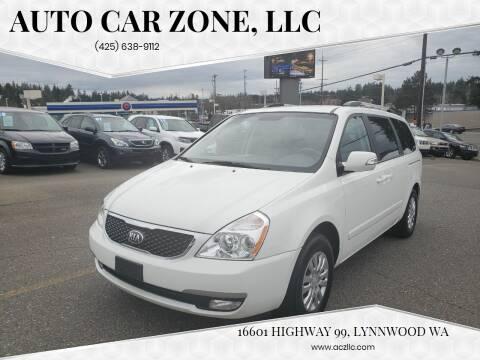2014 Kia Sedona LX for sale at Auto Car Zone, LLC in Lynnwood WA