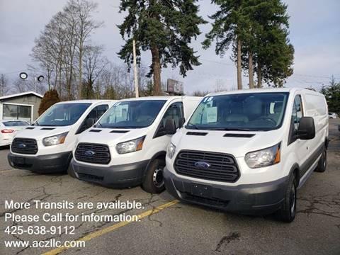 2019 Ford Transit Cargo 250 for sale at Auto Car Zone, LLC in Lynnwood WA