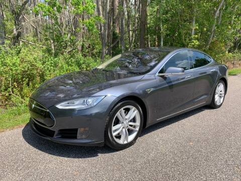2015 Tesla Model S 70 for sale at Tampa Hybrids Inc in Lutz FL