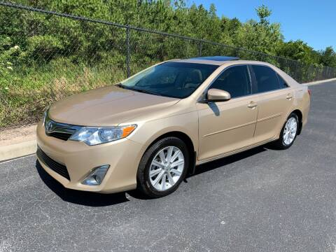 2012 Toyota Camry XLE V6 for sale at Tampa Hybrids Inc in Lutz FL