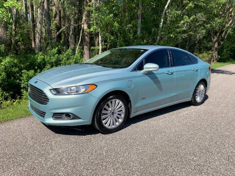 2013 Ford Fusion Energi SE for sale at Tampa Hybrids Inc in Lutz FL