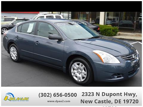 Cars For Sale In Delaware >> 2012 Nissan Altima For Sale In New Castle De