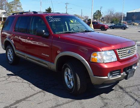2002 Ford Explorer for sale in New Castle, DE