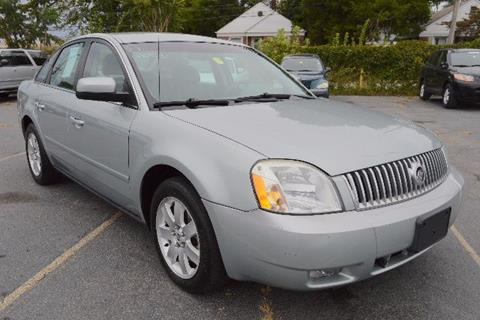 2006 Mercury Montego for sale in New Castle, DE