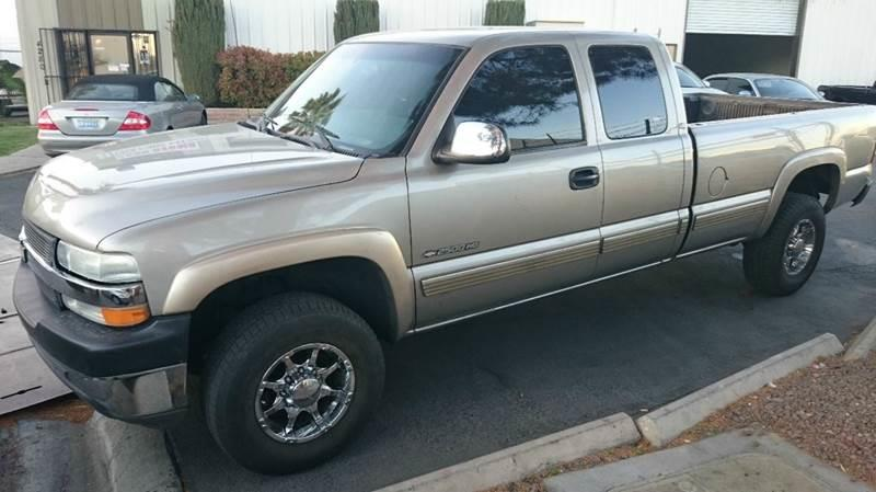 Used Cars in Las Vegas 2001 Chevrolet Silverado 2500 HD
