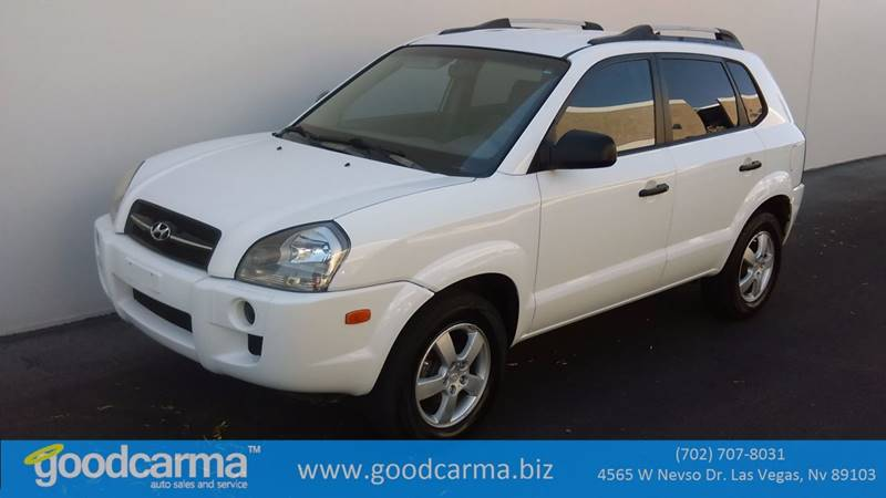 Used Cars in Las Vegas 2005 Hyundai Tucson