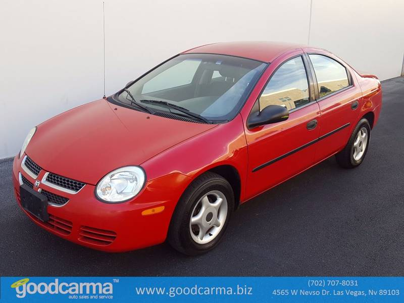 Used Cars in Las Vegas 2004 Dodge Neon