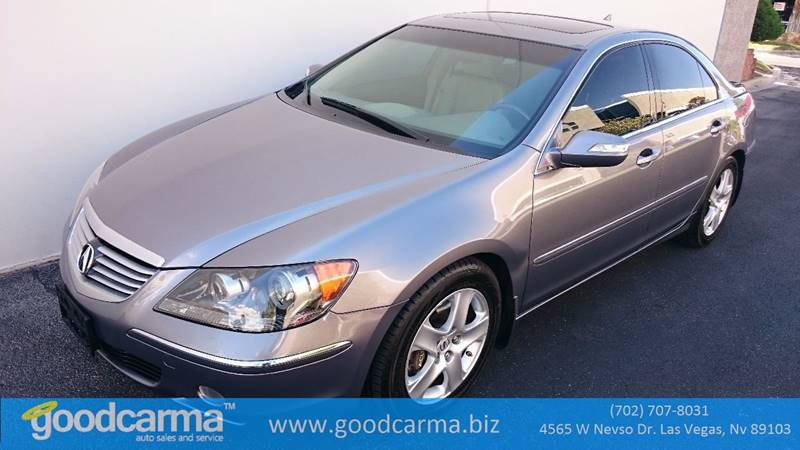Used Cars in Las Vegas 2005 Acura RL