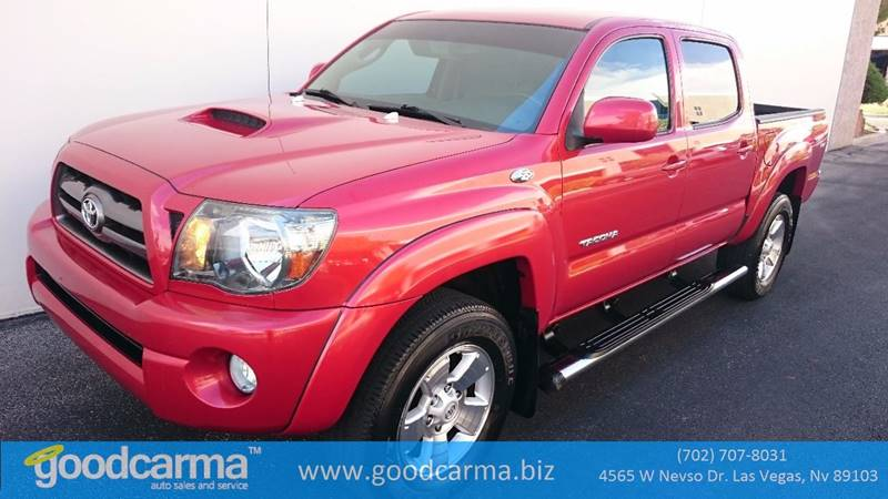 Used Cars in Las Vegas 2010 Toyota Tacoma